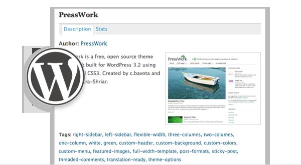 PressWork version 1.0 on WordPress.org!