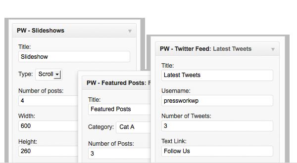 PressWork Custom Widgets