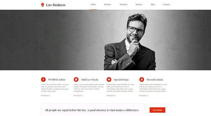 law-business-wordpress-theme